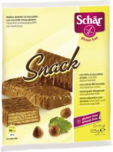 Schär Snack Schoko & Haselnuss glutenfrei 3x 35 g