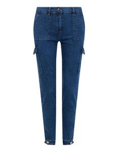 Damen Jeans mit Cargotaschen