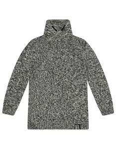 Jungen Sweatshirt mit Stehkragen