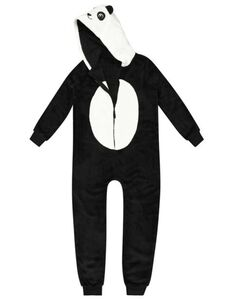 Mädchen Jumpsuit im Panda-Look