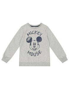 Jungen Sweatshirt mit Mickey Mouse-Print