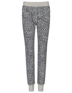 Pyjama-Hose mit Leo-Print