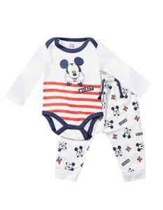 Newborn Set aus Body und Hose mit Mickey Mouse-Print