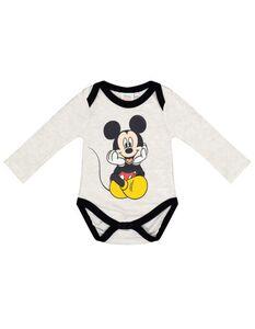 Newborn Body mit Mickey-Mouse Print