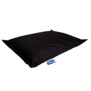 Carryhome Sitzsack schwarz , BIG Foot Scuba , Textil , 380 L , 170 cm , Indoor, Outdoor , 003354046101