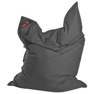 Carryhome Sitzsack grau , BIG Foot Scuba , Textil , 380 L , 170 cm , Indoor, Outdoor , 003354046104
