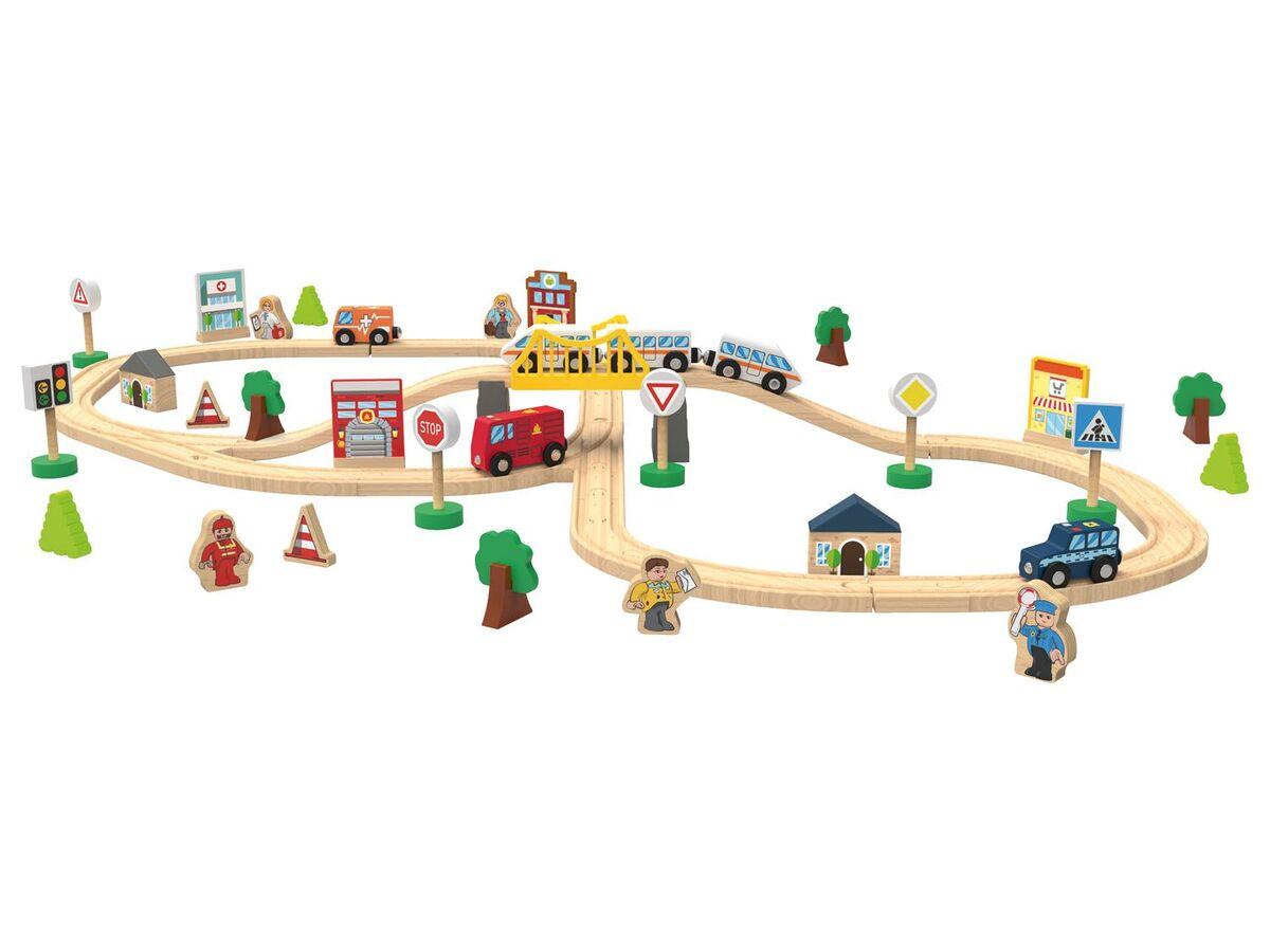 Bild 3 von PLAYTIVE® Holzeisenbahn