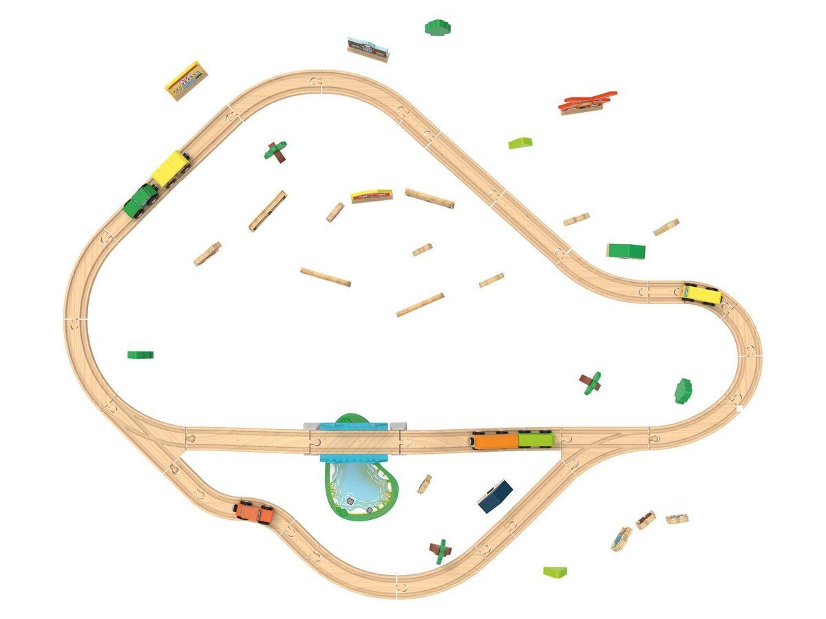 Bild 4 von PLAYTIVE® Holzeisenbahn
