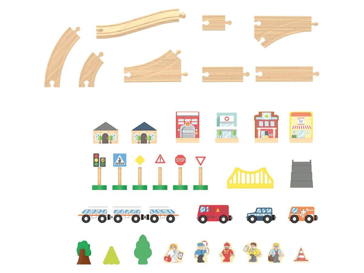 Bild 5 von PLAYTIVE® Holzeisenbahn