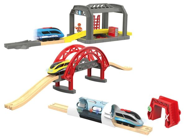 PLAYTIVE® Holz RFID Bahn
