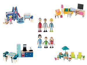 PLAYTIVE® Miniaturmöbel / Biegepuppen