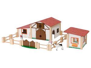 PLAYTIVE® Bauernhof mit Spielfiguren