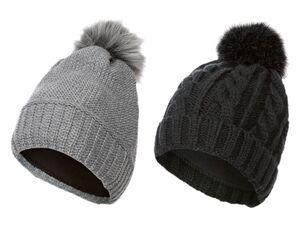 ESMARA® Mütze Damen, mit Fleece-Futter