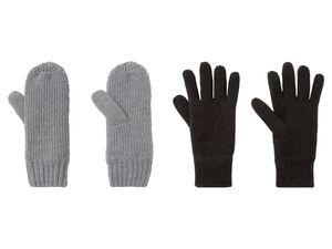 ESMARA® Strickhandschuhe Damen, mit Fleece-Futter