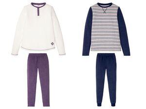 ESMARA® Pyjama Damen, 2-teilig, mit Rundhalsausschnitt