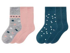 PEPPERTS® Kinder Socken Mädchen, 3 Paar