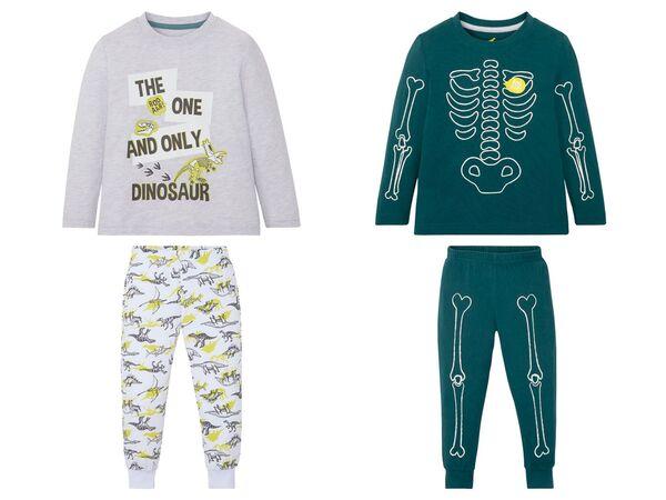 LUPILU® Kleinkinder Pyjama Jungen, mit Baumwolle