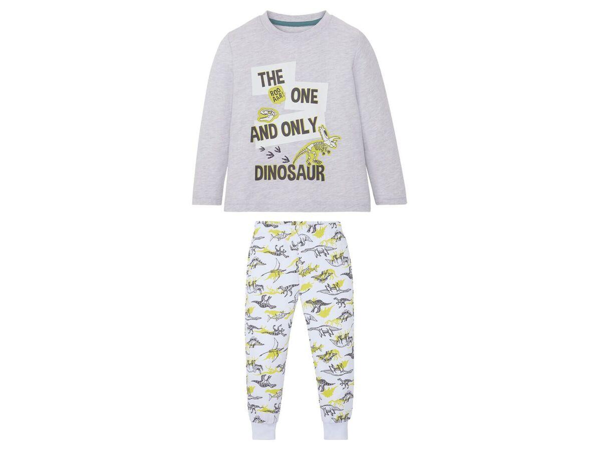 Bild 2 von LUPILU® Kleinkinder Pyjama Jungen, mit Baumwolle