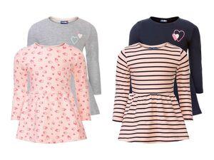 LUPILU® Kleinkinder Kleid Mädchen, 2 Stück