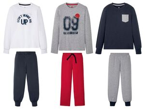 PEPPERTS® Kinder Pyjama Jungen, mit Baumwolle