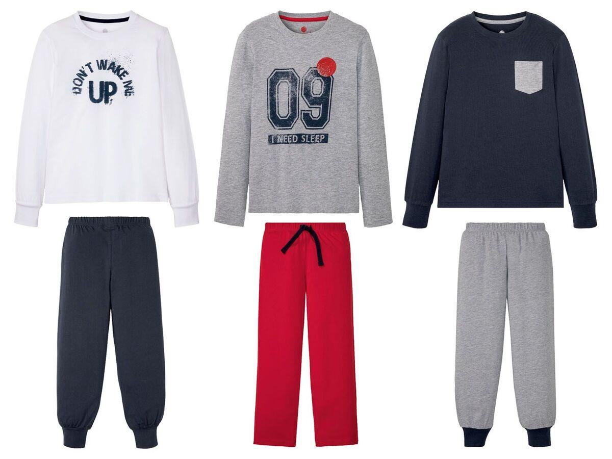 Bild 1 von PEPPERTS® Kinder Pyjama Jungen, mit Baumwolle