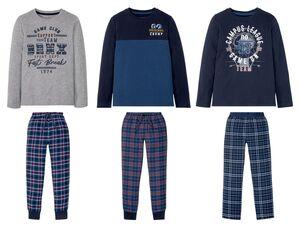 PEPPERTS® Kinder Pyjama Jungen, mit elastischem Bund