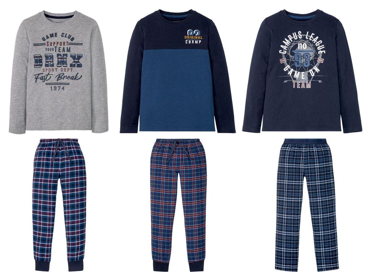 Bild 1 von PEPPERTS® Kinder Pyjama Jungen, mit elastischem Bund