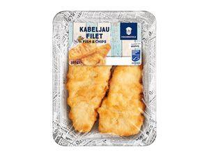"""MSC Kabeljaufilet """"Fish & Chips"""""""