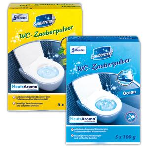 Saubermax WC-Zauberpulver
