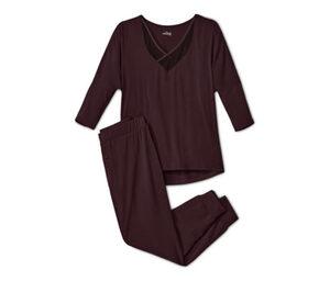 Pyjama mit Mesh