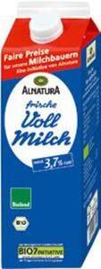 Bioland Alnatura frische Bio-Milch