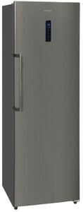 Exquisit Kühlschrank KS 360-4V Inoxlook Dunkel