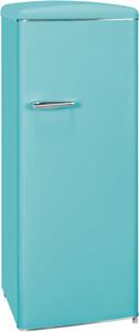 Exquisit Vollraum-Kühlschrank RKS 325-16 RVA++ Türkisblau