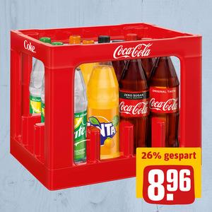 Erfrischungsgetränk Coca Cola
