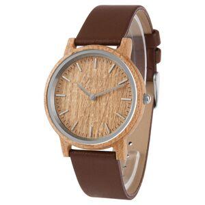 KRONTALER Holz-Armbanduhr Slim Line