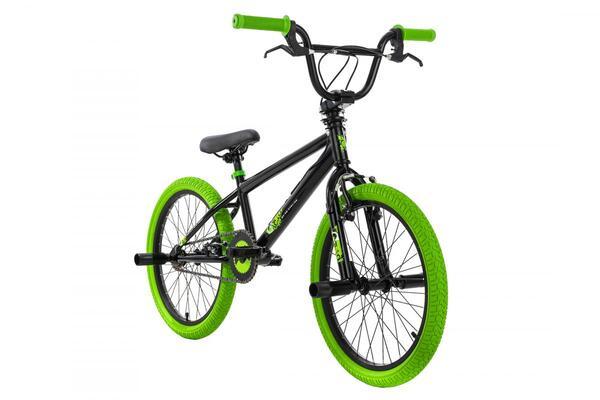 KSCycling BMX Freestyle 20'' G-Acid schwarz-grün