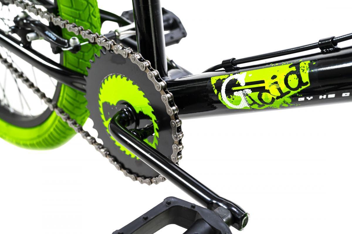 Bild 2 von KSCycling BMX Freestyle 20'' G-Acid schwarz-grün