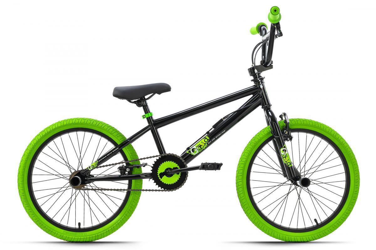 Bild 3 von KSCycling BMX Freestyle 20'' G-Acid schwarz-grün