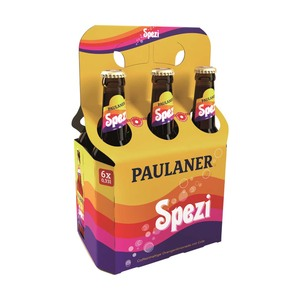 Paulaner Spezi jede 6 x 0,33-Liter-Packung