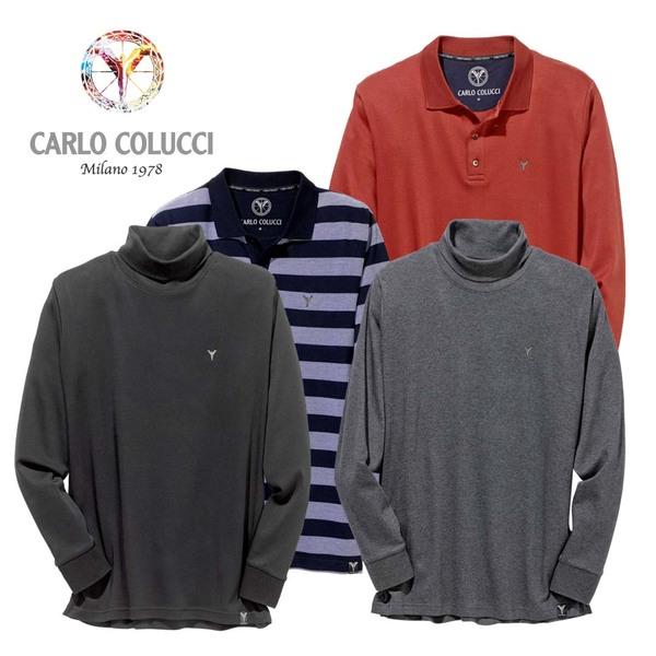 Herren-Polo oder- Rollkragenshirt 100 % Pima-Cotton, versch. Modelle und Farben, Größe: M - XXL, je