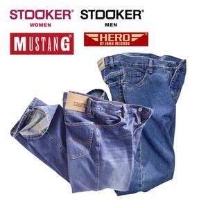 Herren-Jeans Mustang, Hero by John Medoox oder Damen-/ Herren-Jeans oder -Hosen Stooker, ab