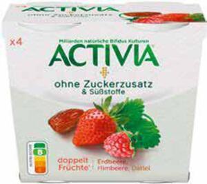 Danone Activia 4er-Pack Joghurt