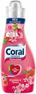 Coral Colorwaschmittel oder Weichspüler