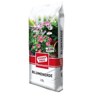 Sonderpreis Baumarkt Blumenerde 40 Liter im Sack
