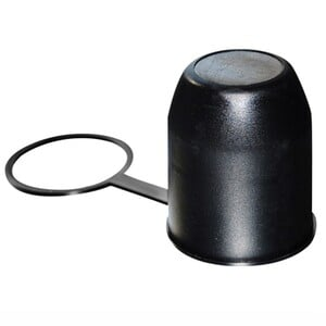 Schutzkappe für Anhängerkupplung aus Kunststoff in schwarz