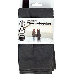 Damen Thermolegging - anthrazit, Gr. S/M (36/40)