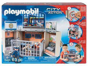Playmobil Aufklapp-Spielbox »Polizeistation«
