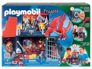 Playmobil Aufklapp-Spielbox »Drachenverlies«
