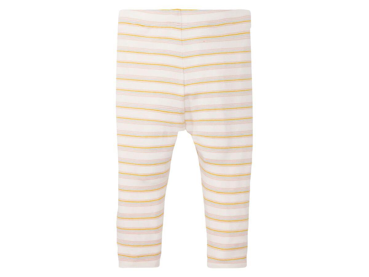 Bild 4 von LUPILU® Baby Leggings Mädchen, 2 Stück, mit elastischem Bund, mit Baumwolle