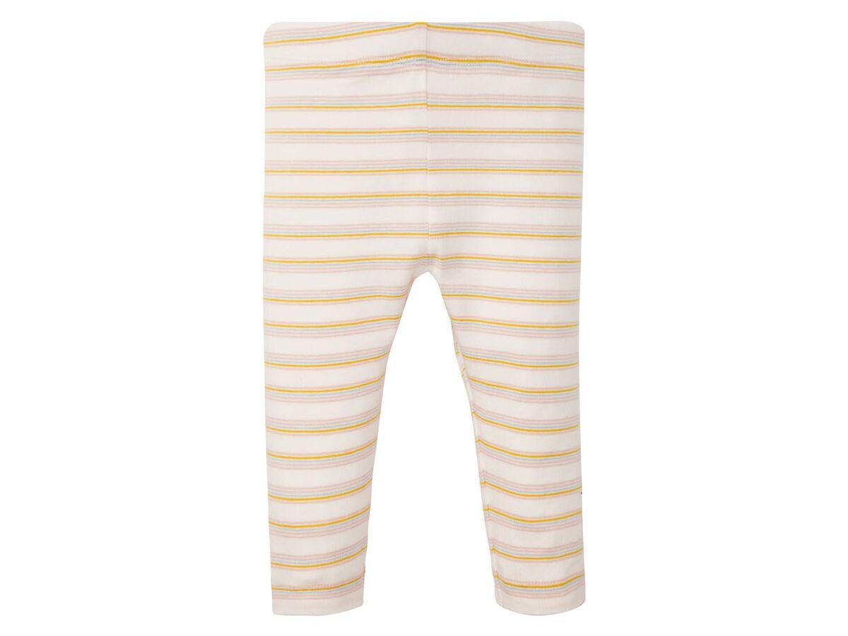Bild 5 von LUPILU® Baby Leggings Mädchen, 2 Stück, mit elastischem Bund, mit Baumwolle